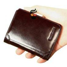 High Quality Classic Style Wallet Genuine Leather for Men