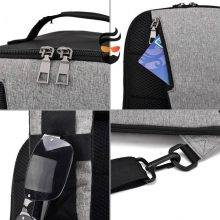 Men Anti Theft Small Cross body Bag with USB