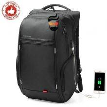Waterproof Backpack for men 15″17″ Laptop External USB Charge – Anti-theft