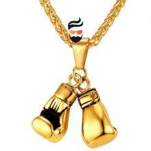 Necklace Pair Boxing Glove for men