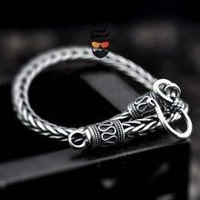 Men's Vintage 925 Sterling Silver Bracelet