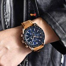Men's Luxury Leather Watches